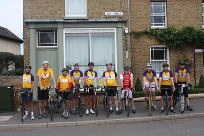 Ready to ride in Haddenham, Cambs!
