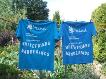Whitefriars Wanderings supporting MIND