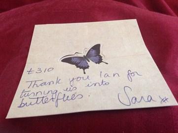 Sara Sharp fundraising jewellery Xmas special Dec 15