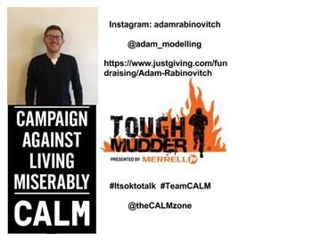 My Tough Mudder Challenge for TeamCALM