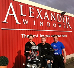 Alexander Windows pledged £1 a mile.