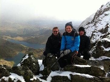 Snowdon training climb