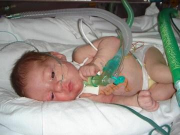 Demi when born