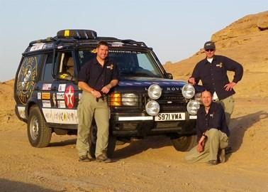 In the Saudi Desert