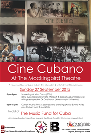 CineCubano 27 Sept 2015