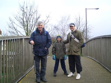 Canaletto1 - Dad, Tim and Charlie day 1