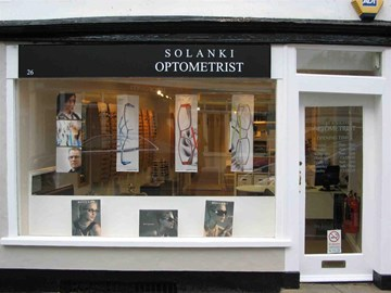 The shop in St Ives near the old bridge