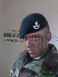 Rifleman Phil Allen, 2nd Bn The Rifles.