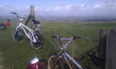 view from the Ditchling beacon