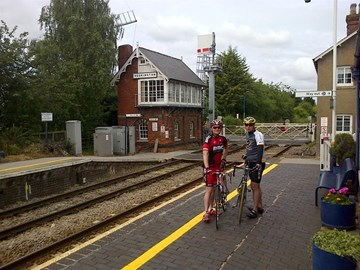 Heckington - Visiting our stations en-route!