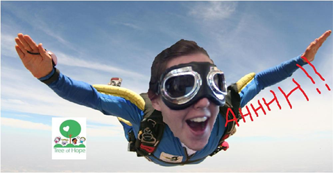 Tree of Hope Skydive!