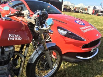 Our Enfield with RAF Beneolent fund Aston