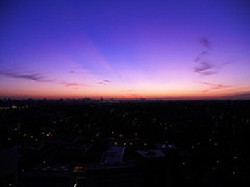I want to be in London, Wandswork with my BFF Jongo -Sunrise from his balcony