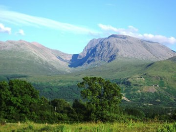 Ben Nevis,the highest of the three peaks