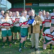 Roger Harris with Plymouth Albion RFC