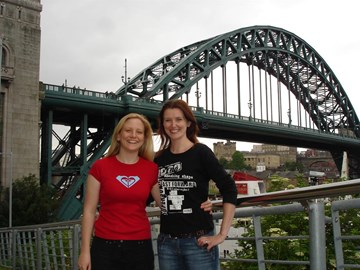 Abseiling off the Tyne Bridge June '07