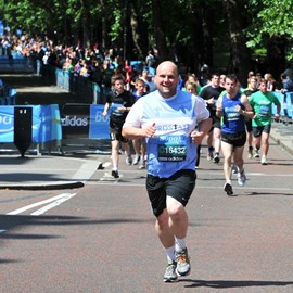Setting out on the 2011 Bupa London 10K
