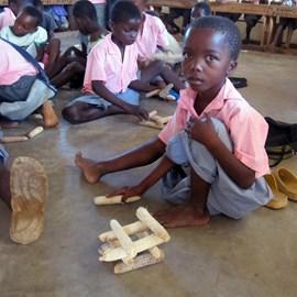 A boy in in the Jimba Gede School
