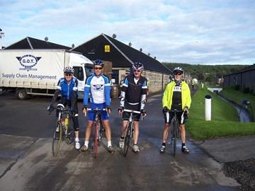 Day 2 Start at Glen Moray Distilery