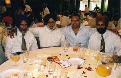 Late Mr RS Gill, Mr LS Gill, Bill Sohal.