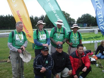 Gurkha Bhuros 2011 at the finish