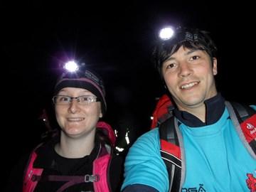Night summit of Snowdon to train for summit night