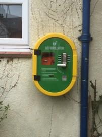 New Public Access Defibrillator at The Methodist Church