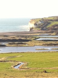The mouth of the Cuckmere