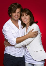 Edward Russell with Elisabeth Sladen