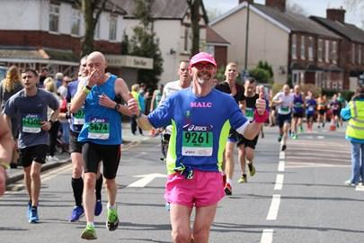 Manchester Marathon April 2017