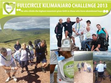 Kilimanjaro team at training August 2013
