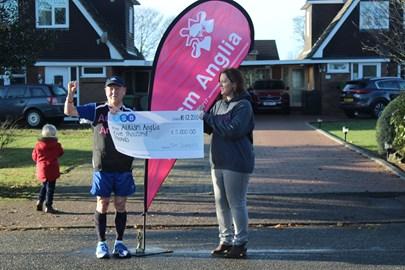 A big Cheque presentation to Autism Anglia