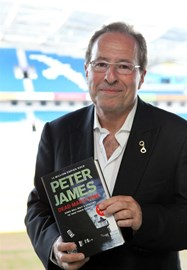 Peter James with Dead Man's Time