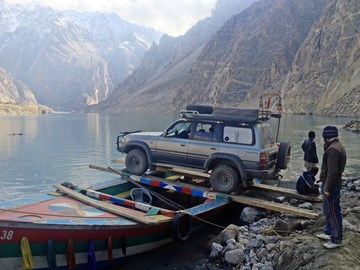 Attabad Lake, North Pakistan