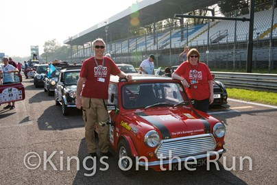 On the grid in Monza