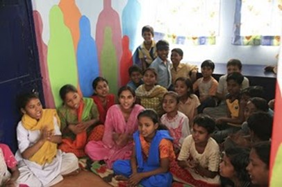 Children from Jeevan Nager