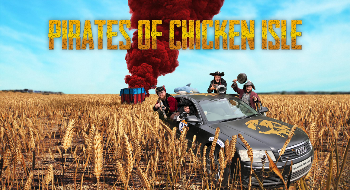 ChickenForCharity PUBG tournament - Support the Rare team - Pirates