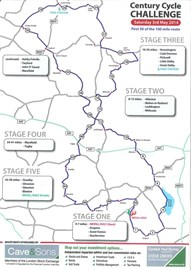 Century Cycle Challenge 3rd May First 50 Miles