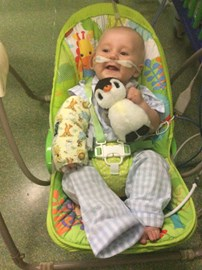 PICU and smiling