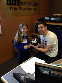 Evie's cause reaches the BBC Radio Leeds and the Wes Butters Show