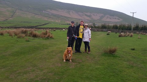 Training day at Pendle Hill