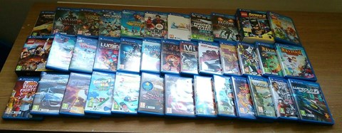 Just some of the games I'll be tackling during the gaming marathon... and they say there's nothing out for the Vita!