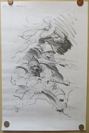 Prize 8: Original pencil sketch 'Ork Mutants', by Ian Miller