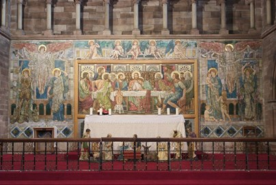 A reredos by Henry Holliday