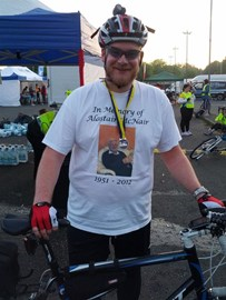Me at the end of the 2012 Nightrider