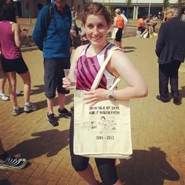 After the Skye 1/2 marathon
