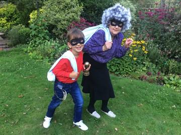 My mum and nephew did Gangsta Granny