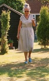 in the garden, Cannock