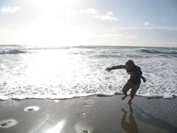 Wave me on, I'm shore I'll get tide out