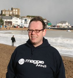 Just before the first swim - Broadstairs